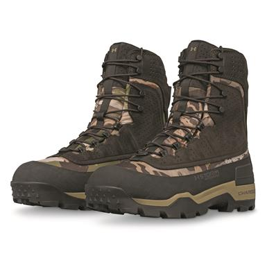 Under Armour Men's Brow Tine 2.0 Waterproof Insulated Hunting Boots, 400 Gram, Ridge Reaper Barren