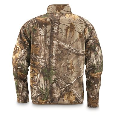 100% polyester performance fabric moves easily and holds up to tough field wear