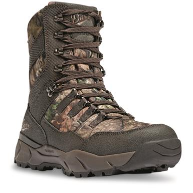 "Danner Men's 8"" Vital Waterproof Insulated Hunting Boots, 400 Gram, Mossy Oak Break-Up Country Camo"