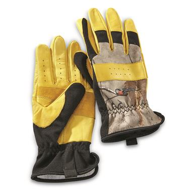 Guide Gear Men's Hunt/Work Gloves, Tan/Realtree
