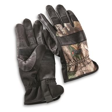 Guide Gear Men's Hunt/Work Gloves, Black/Realtree Xtra