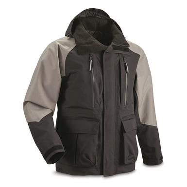 Guide Gear Men's Elements XT Parka, Black/Gray