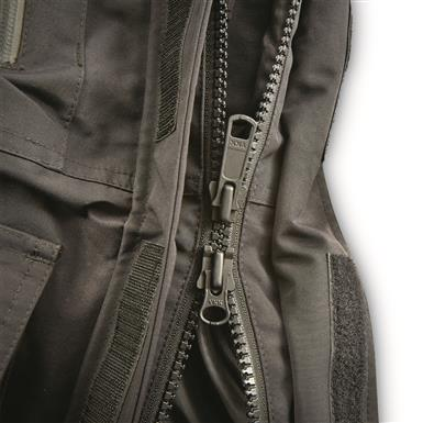 2-way front zipper