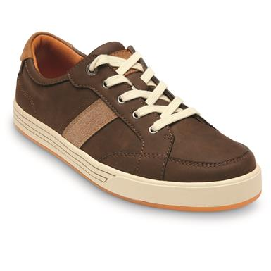 Streetcars Men's Carmel Lace Up Shoes, Dark Brown
