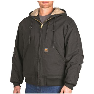 Walls Outdoor Goods Men's Insulated Muscle Back Jacket, Black