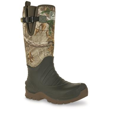 Kamik Fieldman Men's Camo Waterproof Boots, Realtree Xtra