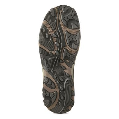 High-traction rubber outsole, Brown