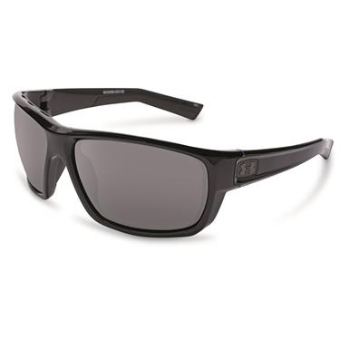 Under Armour Men's Launch Shiny Polarized Sunglasses, Realtree Gray