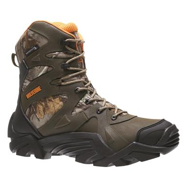 Wolverine Men's Broadhead Waterproof Camo Hunting Boots
