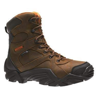 Wolverine Men's Broadhead Waterproof Hunting Boots, Brown