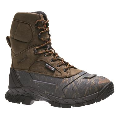 Wolverine Men's Vortex Waterproof Hunting Boots, Brown