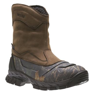 Wolverine Men's Vortex Waterproof Pull-On Hunting Boots, Brown