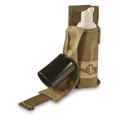 U.S. Military Surplus Hand Sanitizer and Pouch, New