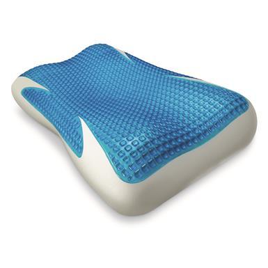 Broyhill Icy-Cool Touch Gel Fiber Memory Foam Standard Pillow with Ice Fiber