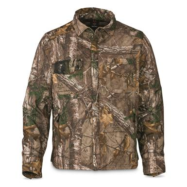 Browning Men's Hell's Canyon Contact Shacket, Realtree Xtra
