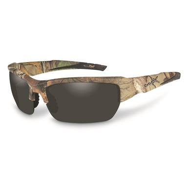 Wiley X Men's Valor Sunglasses, Realtree Xtra