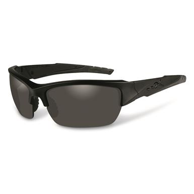 Wiley X Men's Valor 3 Lens Sunglasses, Matte Black
