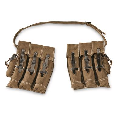 Reproduction German Military WWII Sturmgewehr 44 Mag Pouch