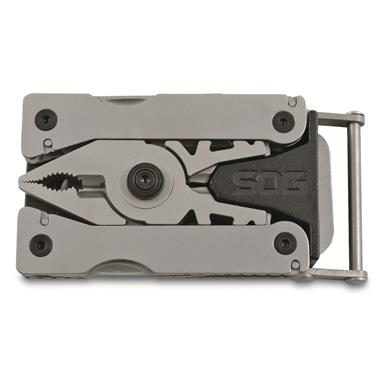 SOG Sync Belt Buckle Multi Tools