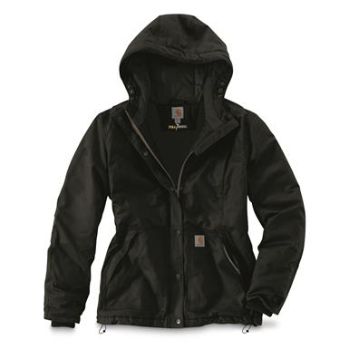 Carhartt Women's Full Swing Cryder Insulated Jacket, Black