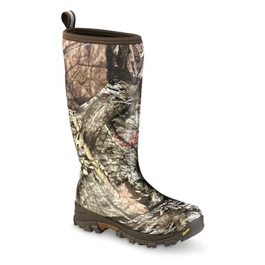 Muck Men's Woody Arctic Ice Tall Rubber Boots, Mossy Oak