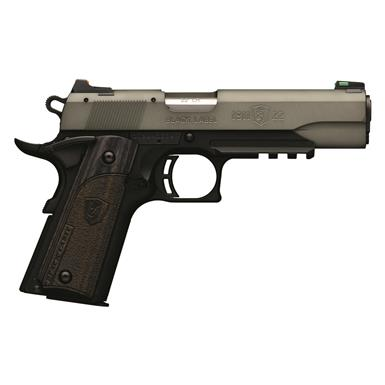 "Browning 1911-22 Black Label, Semi-Automatic, .22LR, 4.25"" Barrel, Gray with Rail, 10+1 Rounds"