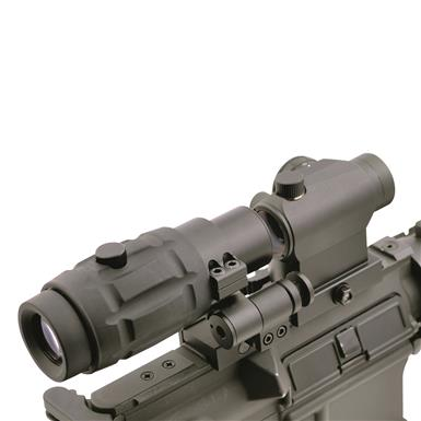 Hammers RT5H Red Dot Sight with RM3 Magnifier and Flip to Side Mount