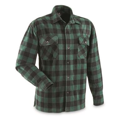 Green/Black Buffalo Plaid