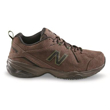 New Balance Men's 608v4 Cross Trainer Shoes, Brown