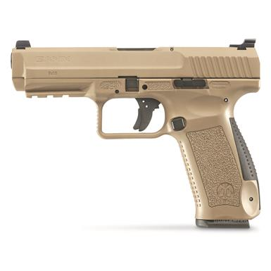 "Century Arms Canik TP9SF, Semi-Automatic, 9mm, 4.5"" Barrel, Desert Tan, 18+1 Rounds"
