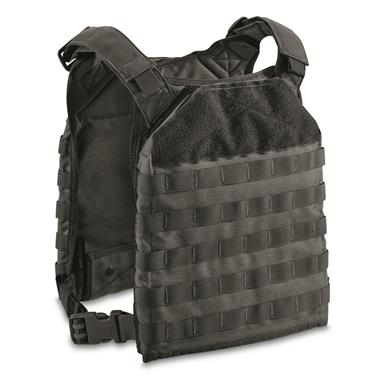 Armor Express Rapid Base Plate Carrier Vest, Black