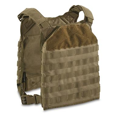 Armor Express Rapid Base Plate Carrier Vest, Ranger Green