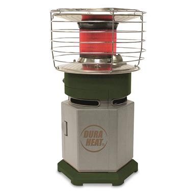 DuraHeat Single Tank Portable 360° Indoor/Outdoor Propane Heater
