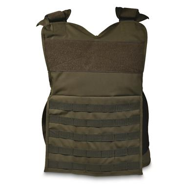BlueStone Safety Tactical Plate Carrier Vest, Green