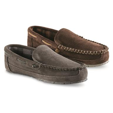 Guide Gear Suede Moc Slippers
