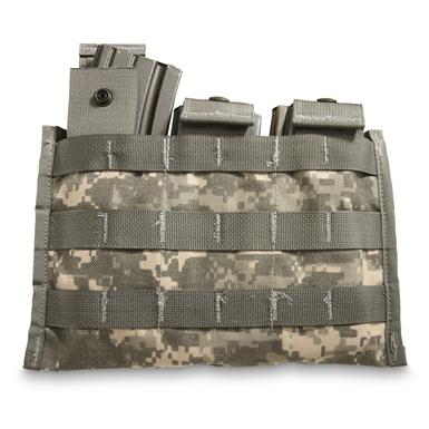 U.S. Military Surplus Triple Mag Pouch, New