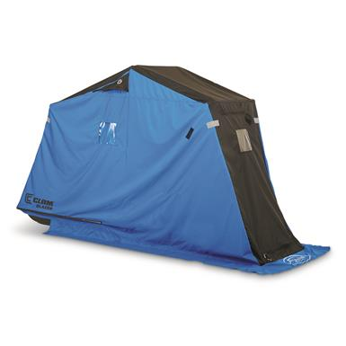 Clam Blazer Ice Fishing Shelter, 1 Person