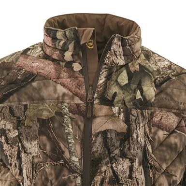 Internal storm placket blocks out wind, Mossy Oak Break-Up® COUNTRY™