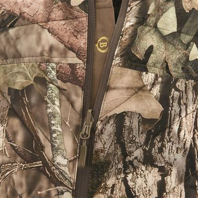 Rubberized pull tabs on zippers, Mossy Oak Break-Up® COUNTRY™