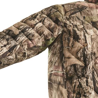 No fill under arms and along sides for reduced bulk and better mobility, Mossy Oak Break-Up® COUNTRY™