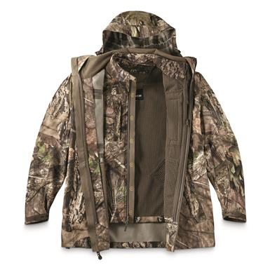 Attaches to Outlands Outer Jacket (item 702713—sold separately) via attachment loops at cuffs and inside neckline, Mossy Oak Break-Up® COUNTRY™