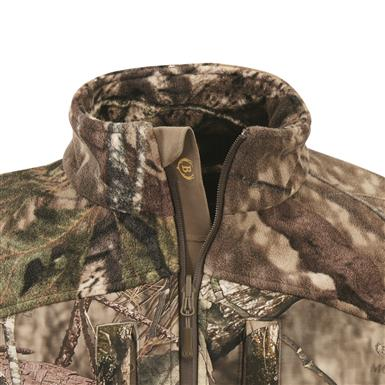 Storm placket blocks out wind, Mossy Oak Break-Up® COUNTRY™