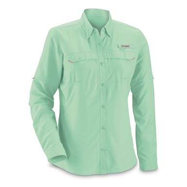 Columbia Women's PFG Lo Drag Long Sleeve Shirt, Pixie