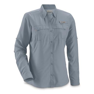 Columbia Women's PFG Lo Drag Long Sleeve Shirt, Mountain