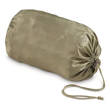 U.S. Military Surplus Nylon Ripstop Ditty Bags, 6 Pack, New, Olive Drab; Ripstop nylon construction