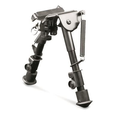 AIM Sports H-Style Spring Tension Bipod, Short Model
