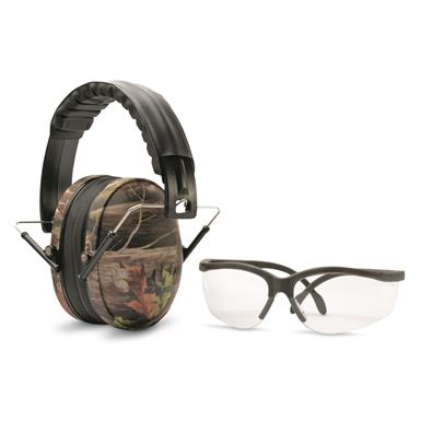 Walker's Low Profile Hearing Protection And Shooting Glasses