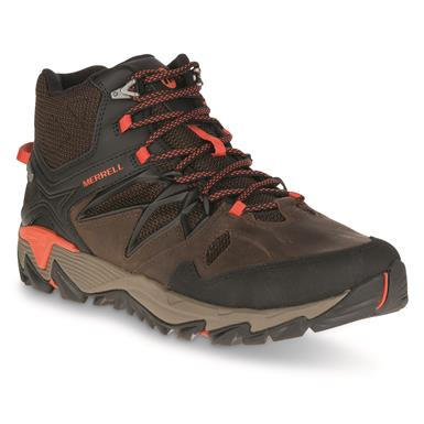 Merrell Men's All Out Blaze 2 Waterproof Mid Hiking Boots, Clay