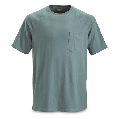 Dickies Men's Temp-iQ Performance Cooling T Shirt, Dusty Blue