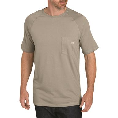 Dickies Men's Temp-iQ Performance Cooling T Shirt, Smoke